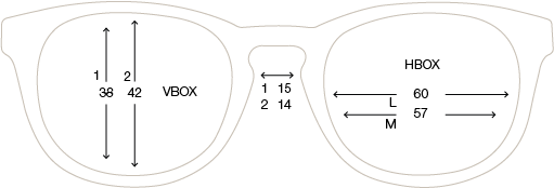 Measurements SunGuard frames